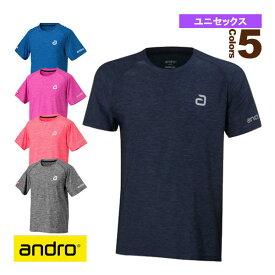 アンドロ メランジティーシャツ アルファ/ANDRO MELANGE T-SHIRT ALPHA/ユニセックス(30204x/30205x)《アンドロ 卓球 ウェア(メンズ/ユニ)》