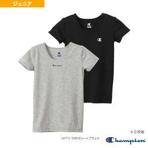 2P クルーネックTシャツ/2枚組/ジュニア(CB1-R701)《チャンピオン オールスポーツ アンダーウェア》