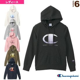 GRAPHIC HOODED SWEATSHIRT/グラフィック フーデッドスウェットシャツ/レディース(CW-S105)《チャンピオン オールスポーツ ウェア(レディース)》