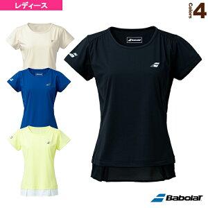 VS SHORT SLEEVE SHIRT/半袖ゲームシャツ/レディース(BWG1320)《バボラ テニス・バドミントン ウェア(レディース)》