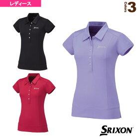 TEAM LINE/ポロシャツ/レディース(SDP-1572W)《スリクソン テニス・バドミントン ウェア(レディース)》テニスウェア女性用