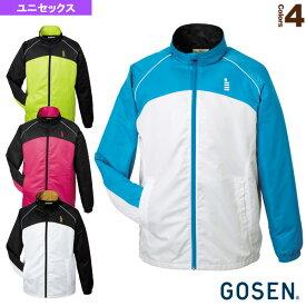 ウィンドウォーマージャケット/裏起毛/ユニセックス(Y1502)《ゴーセン テニス・バドミントン ウェア(メンズ/ユニ)》バドミントンウェア男性用