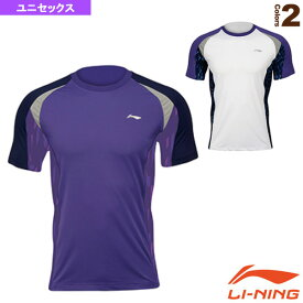 [リーニン テニス・バドミントン ウェア(メンズ/ユニ)]半袖シャツ/ユニセックス(ATSK055)