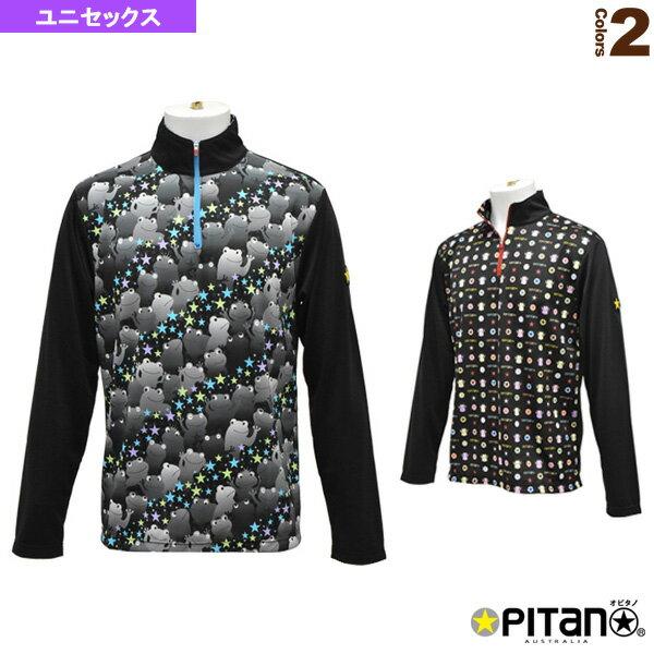 UVカット&クール・ロングジップシャツ/ユニセックス(OPT-1151)《オピタノ テニス・バドミントン ウェア(メンズ/ユニ)》
