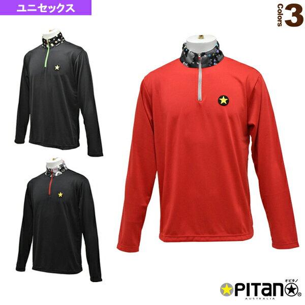 UVカット&クール・mujiロングジップシャツ/ユニセックス(OPT-1152)《オピタノ テニス・バドミントン ウェア(メンズ/ユニ)》