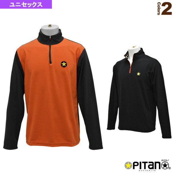 ウォームドライmujiロングジップ/ユニセックス(OPT-1153)《オピタノ テニス・バドミントン ウェア(メンズ/ユニ)》
