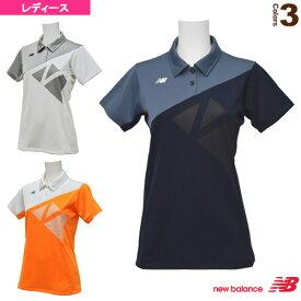 [ニューバランス テニス・バドミントン ウェア(レディース)]ショートスリーブ ゲームポロシャツ/レディース(JWTT6033)
