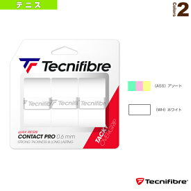 PRO CONTACT 3P/プロコンタクト 3P(TFA021)《テクニファイバー テニス アクセサリ・小物》グリップテープオーバーグリップウェットタイプ