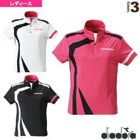 ゲームシャツ/レディース(TL5343)《ディアドラ テニス・バドミントン ウェア(レディース)》