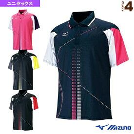 ゲームシャツ/ユニセックス(62MA5016)《ミズノ テニス・バドミントン ウェア(メンズ/ユニ)》バドミントンウェア男性用
