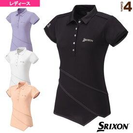 ポロシャツ/レディース(SDP-1533W)《スリクソン テニス・バドミントン ウェア(レディース)》テニスウェア女性用