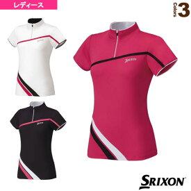ジップシャツ/レディース(SDP-1540W)《スリクソン テニス・バドミントン ウェア(レディース)》テニスウェア女性用