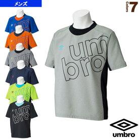 エアリーパイル S/S クルーシャツ/メンズ(UCS4554)《アンブロ オールスポーツ ウェア(メンズ/ユニ)》