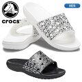 【あす楽対応】クロックス【crocs】クラシックロゴモーションスライドメンズ206124国内正規品