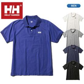 【セール30%OFF】ヘリーハンセン【HELLY HANSEN】半袖 ワンポイント ポロシャツ メンズ HH31901