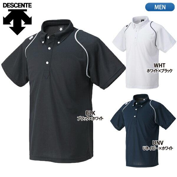 DESCENTE 【デサント】 ボタンダウン ポロシャツ DTM-4600
