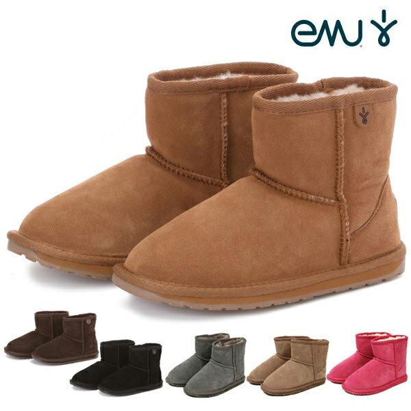 ブーツ エミュ エミュー KIDS WALLABY MOUTON BOOTS Mini 通販 ムートンブーツ おすすめ 通販/正規品 ワラビー EMU おすすめ ムートン 子供用 キッズ ミニ