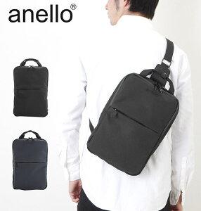 アネロ ショルダー ミニ 定番 ブランド anello レディース ボディバッグ メンズ ミニショルダー ポリエステル 軽量 おしゃれ 旅行 大人 シンプル 黒 ブラック ウエストポーチ ボディーバッグ