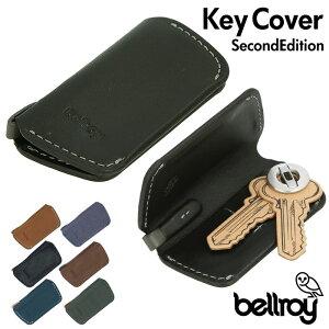 キーケース メンズ 定番 キーカバー ベルロイ ブランド bellroy シンプル スリム おしゃれ 革 レザー 鍵 カバー 薄型 レディース ブラック 黒 キャメル ネイビー プレゼント KEY COVER 2ND EDITION EKCC