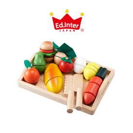 【ラッピング無料・のし対応】エド インター (Ed.Inter) ままごといっぱいセット 木製 おもちゃ 知育玩具 J262065 0811207 5P01Oct16