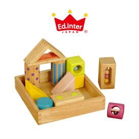 【ラッピング無料・のし対応】エド インター (Ed.Inter) 音いっぱいつみき 積み木 木製 おもちゃ 知育玩具 J260065 050019 5P01Oct16