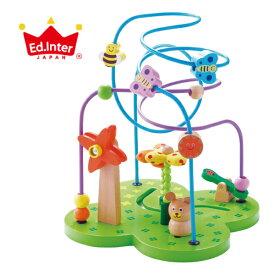 エド インター (Ed.Inter) おさんぽくまさん 804476 ビーズコースター 木製 おもちゃ 知育玩具 J283065 050019 5P01Oct16
