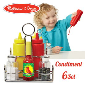 メリッサ&ダグ (Melissa & Doug) 調味料セット おもちゃ ままごと 知育玩具 MD9358 J37065 0811207 5P01Oct16