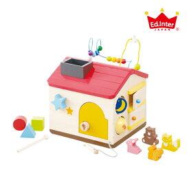 【ラッピング無料・のし対応】エド・インター Ed.Inter(エド・インター)ようこそ!森のわくわくハウス ビーズコースター どうぶつ ブロック遊び 知育玩具 10種類 音あそび 誕生日 出産祝い プレゼント ギフト ベビー 森のあそび道具シリーズ
