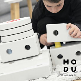 MODU(モデュ) Dreamer kit ドリーマーキット おもちゃ 知育玩具 学習玩具 0歳 1歳 2歳 3歳 4歳 5歳 6歳 ブロック パズル 手押し車 乗用玩具 くるま 足けり アスレチック 木馬 赤ちゃん J5120
