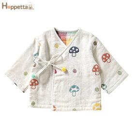 Ficelle(フィセル):Hoppetta(ホッペッタ) /champignon(シャンピニオン) 【日本製】 6重ガーゼ ナイトローブ ギフト 5368 5P01Oct16