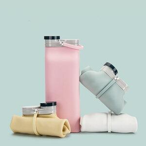 シリコン製 ウォーターボトル 水筒 折り畳み式 大容量 スポーツボトル ポータブル 超軽量 持運び 折りたたみ可能 ポット マイボトル 旅行 ランニング