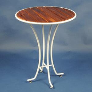 テーブル スチール製 ガーデンテーブル アイアン 机 テーブル チェア シンプル 木製 北欧 庭 ガーデン エクステリア ガーデニング ガーデンファニチャー テーブル 家具 屋外 おしゃれ 店