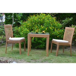 ガーデンファニチャー テーブル 家具 屋外 雨ざらし おしゃれ 店舗 ガーデニング ラタン調 テラス用 メーカー ショールーム 庭 ベランダ アウトドア 安い 人工ラタン ラタン椅子 通販ガーデ