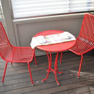 ガーデンテーブル スチール製 ガーデンテーブル アイアン 机 テーブル チェア シンプル 木製 北欧 庭 ガーデン エクステリア ガーデニング ガーデンファニチャー テーブル 家具 屋外 おし