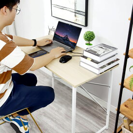 パソコンデスク ワークデスク 省スペース シンプルデスク PCデスク オフィスデスク 70cm幅 奥行45cm 勉強机 大人 おしゃれ 在宅 平机 書斎机 学習机 学習デスク スリム 机 子供 PCデスク ゲーミングデスク