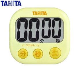 タニタ/TANITA  デジタルタイマー でか見えタイマー TD-384 (イエロー) [n]