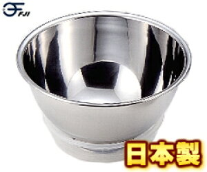 藤井器物製作所/FUJII 18-0 洗米ボール 27cm #00104 0-AD31-27-C (日本製・国産・洗米ボウル・米研ぎ・米とぎ・18-0ステンレス・MARUEFU)