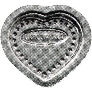霜鳥製作所/QueenRose ハートチョコレート型 小 No.474 (クイーンローズ・18-8ステンレス・ハート型・製菓道具)