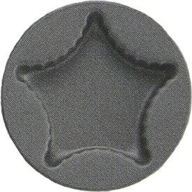 霜鳥製作所/QueenRose ブラックフィギュア クッキー焼型 スター D-045 (クイーンローズ・クッキー型・焼き型・星・製菓道具)