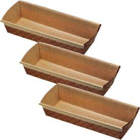 霜鳥製作所/QueenRose ペーパーボート パウンドケーキ焼型L 3枚入 PB-0021 (クイーンローズ・ベークウェア・紙の焼き型・紙型・パウンドケーキ型・製菓道具)