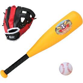 カワセ/カイザー キッズベースボールセット KW-543 (野球・バット・グローブ・ボール・スポーツ玩具)