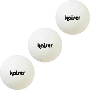 カワセ/カイザー 卓球ボール 3P KW-199 (卓球・ピンポン玉)