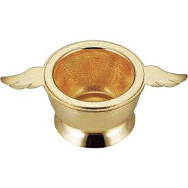高桑金属 エンゼル ティーストレーナー ゴールド 400171 (日本製・食洗機対応・茶漉し・茶こし・金メッキ・天使・エンジェル・エルフィン・elfin)