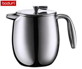 ボダム/bodum コロンビア ダブルウォール コーヒープレス コーヒーメーカー (4カップ用) 0.5リットル 11055-16 [n]