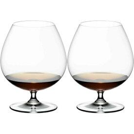 リーデル/RIEDEL ヴィノム ブランディ・スニフタ 2本セット 6416/18 (ウイスキー・ブランデーグラス) [b]