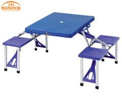 カワセ/バンドック ピクニックテーブルセット BD-190  (キャンプ用品・バーベキュー用品・アウトドア用品・イス・テーブル・レジャー用品)