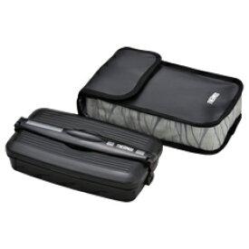 サーモス/THERMOS フレッシュランチボックス DJB-805 ブラックグレー (お弁当箱・食洗機対応)