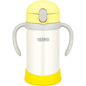 サーモス まほうびんのベビーストローマグ FJL-350(YWH) イエローホワイト (水筒・魔法瓶・350ml・THERMOS)