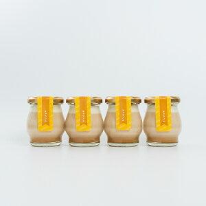 豆乳プリン キャラメル 4個入り Lucollet ルコレ ギフト 高級 プリン 美味しい 詰め合わせ 豆乳 スイーツ お菓子 ヘルシー 健康 おやつ 卵 不使用 卵アレルギー 絶品 お取り寄せスイーツ おしゃ