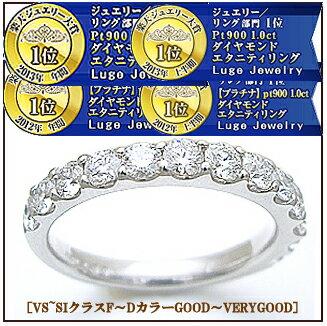 K18 1.0ctダイヤモンドエタニティリング『Eternity Ring』1カラット今なら[無色透明F〜Dカラー/VS〜SIクラス/GOOD〜EXCELLENTH&C] --後悔させない自信作の1品--【送料無料】【18金】【ホワイト/ピンク/ゴールド】【楽ギフ_包装】【楽ギフ_メッセ】
